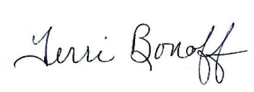 Terri Bonoff signature